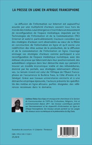 4eme La Presse en ligne en Afrique francophone