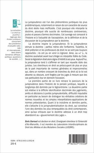4eme La jurisprudence et la doctrine