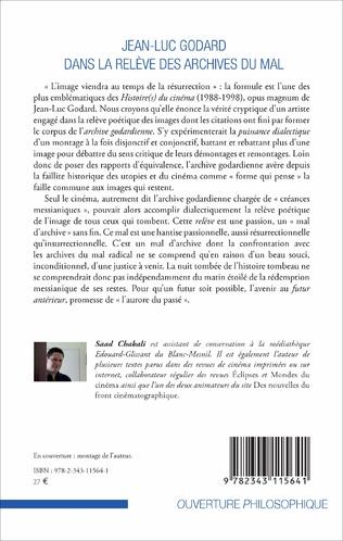 4eme Jean-Luc Godard dans la relève des archives du mal