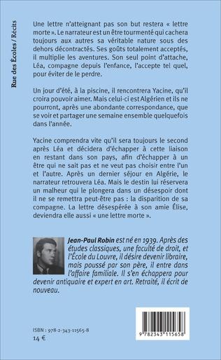 4eme Lettres mortes