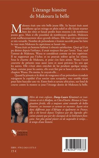 4eme L'étrange histoire de Makoura la belle