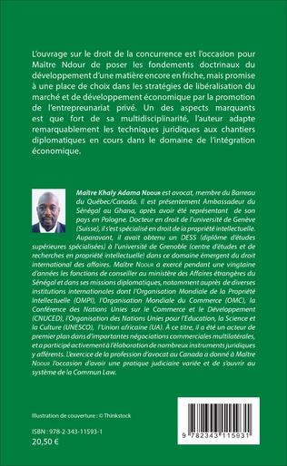 4eme Droit de la concurrence applicable au Sénégal et en Afrique de l'ouest