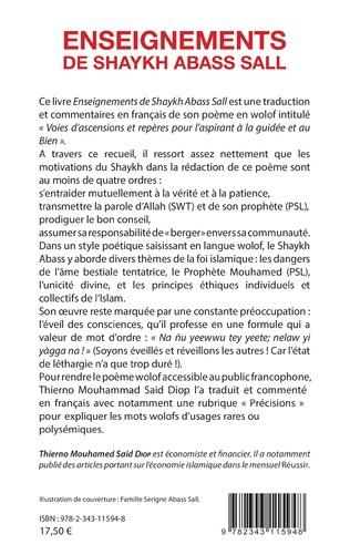 4eme Enseignements de Shaykh Abass Sall