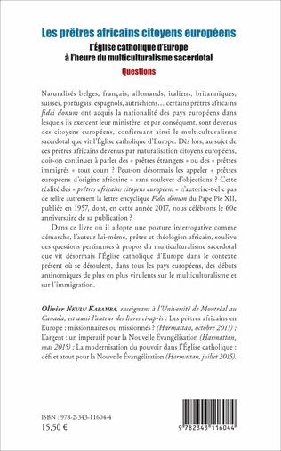 4eme Les prêtres africains citoyens européens
