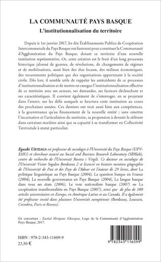 4eme La communauté pays basque