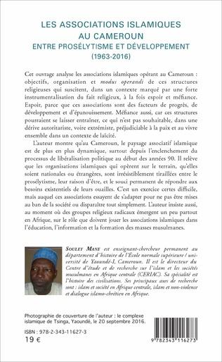 4eme Les associations islamiques au Cameroun
