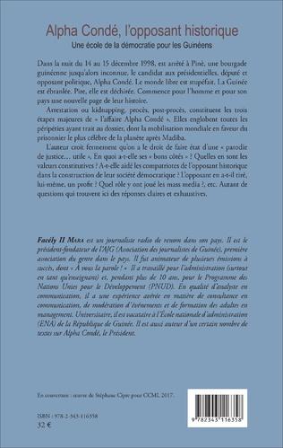 4eme Alpha Condé, l'opposant historique