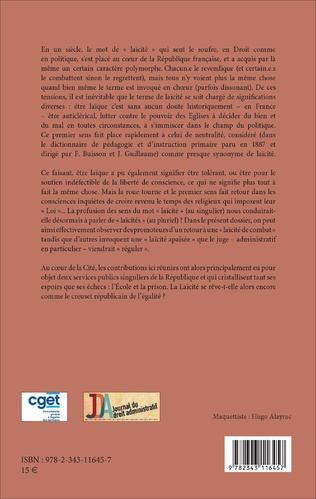 4eme Laï-cité(s) et discrimination (s)