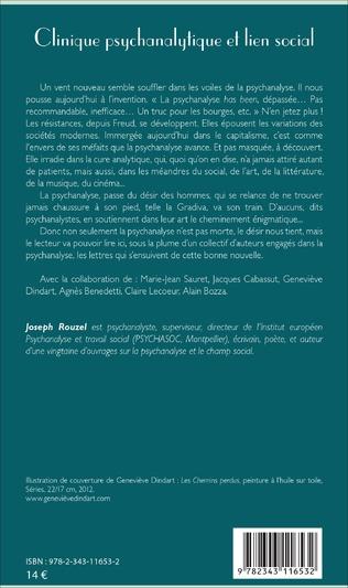 4eme Clinique psychanalytique et lien social
