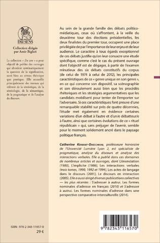 4eme Les débats de l'entre-deux-tours des élections présidentielles françaises