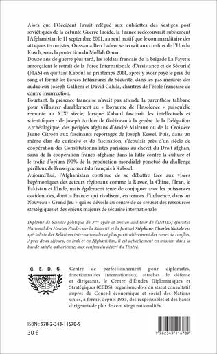 4eme L'Afghanistan, une aventure géopolitique française
