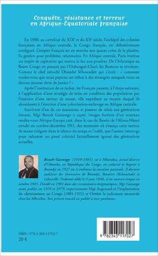 4eme Conquête, résistance et terreur en Afrique - Equatoriale française