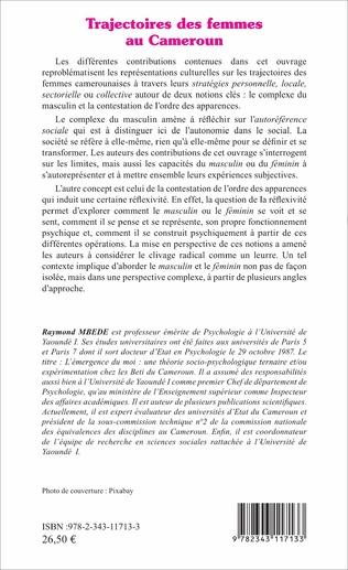 4eme Trajectoires des femmes au Cameroun