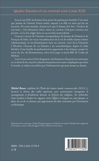 4eme Quatre femmes et un couvent sous Louis XIII
