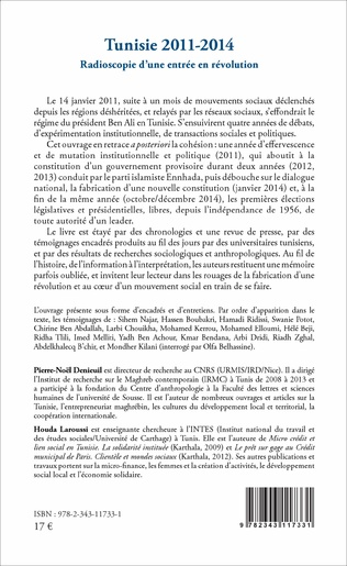 4eme Tunisie 2011-2014
