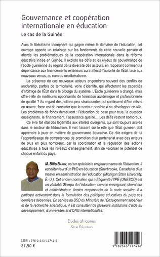 4eme Gouvernance et coopération internationale en éducation