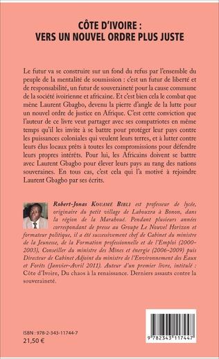 4eme Côte d'Ivoire : vers un nouvel ordre plus juste
