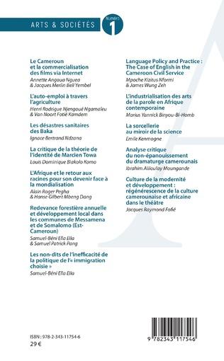 4eme Arts et sociétés numéro 1