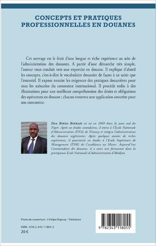 4eme Concepts et pratiques professionnelles en douanes