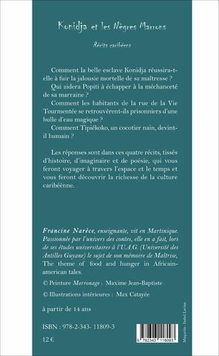 4eme Konidja et les Nègres Marrons