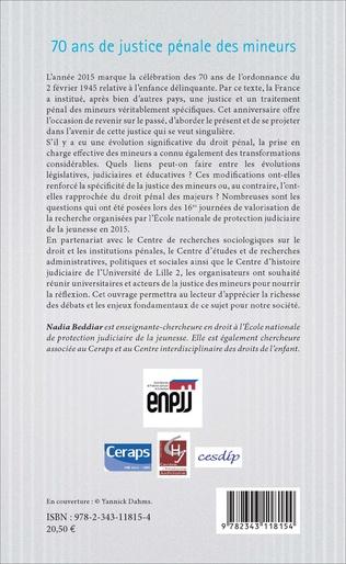 4eme La justice juvénile en débat sur la scène internationale (1900-1935)