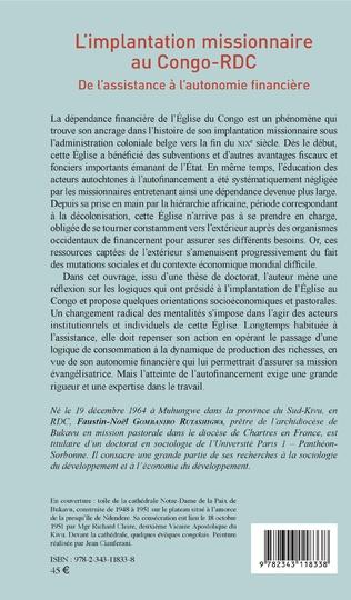 4eme L'implantation missionnaire au Congo-RDC