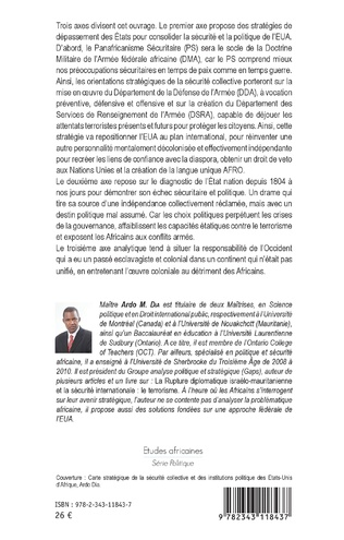4eme La sécurité et la politique des Etats-Unis d'Afrique