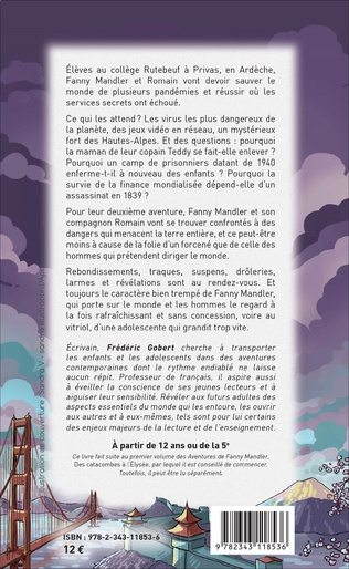 4eme Les aventures de Fanny Mandler