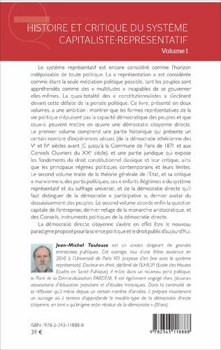 4eme Histoire et critique du système capitaliste-représentatif