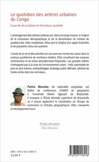 4eme Le quotidien des artères urbaines du Congo