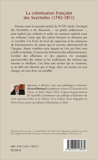 4eme La colonisation française des Seychelles