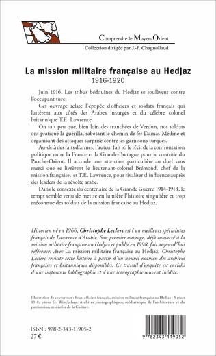 4eme La mission militaire française au Hedjaz