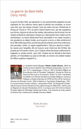 4eme La guerre du Bani - Volta