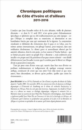 4eme Chroniques politiques de Côte d'Ivoire et d'ailleurs