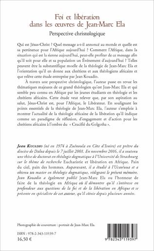 4eme Foi et libération dans les oeuvres de Jean - Marc Ela