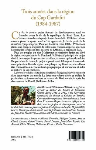 4eme Trois années dans la région du Cap Gardafui (1984-1987)