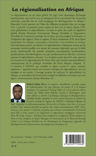 4eme La régionalisation en Afrique