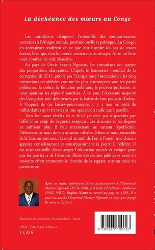 4eme La déchéance des moeurs au Congo