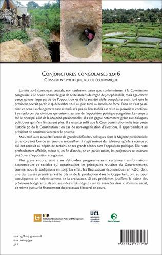 4eme Conjonctures congolaises 2016