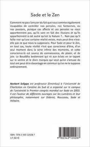 4eme Sade et le Zen
