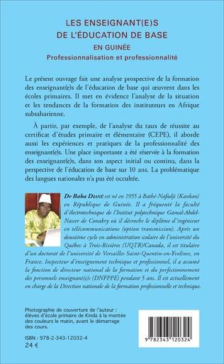 4eme Les enseignant(e)s de l'éducation de base en Guinée