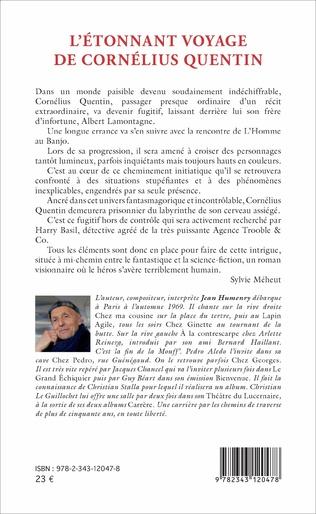 4eme L'Étonnant voyage de Cornélius Quentin