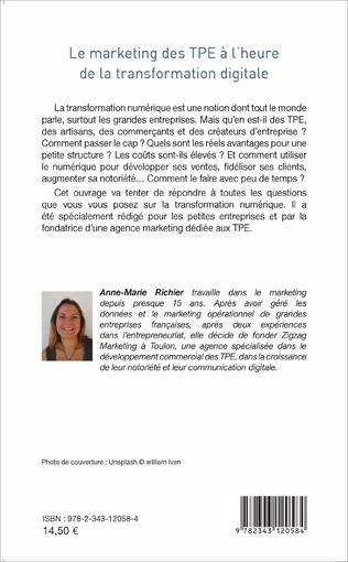 4eme Le marketing des TPE à l'heure de la transformation digitale