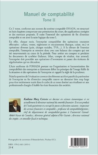 4eme Manuel de comptabilité Tome II