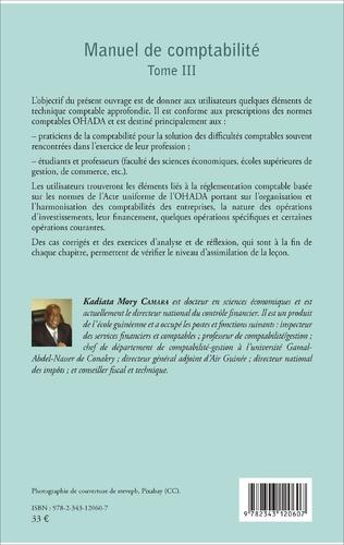 4eme Manuel de comptabilité Tome III