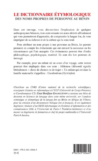 4eme Le dictionnaire étymologique des noms propres