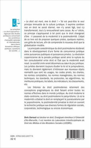 4eme Le droit postmoderne