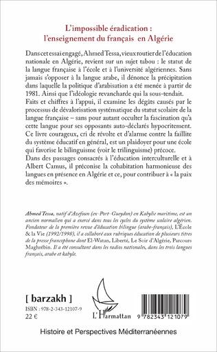 4eme L'impossible éradication : l'enseignement du français en Algérie