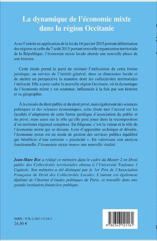 4eme La dynamique de l'économie mixte dans la région Occitanie