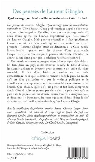 4eme Des pensées de Laurent Gbagbo